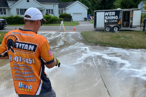 Power Washing in Fairview Heights IL
